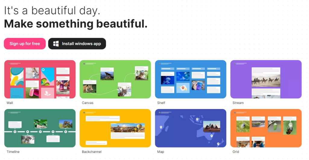 Padlet - wirtualna tablica do wykorzystania przez nauczycieli jako narzedzie TIK